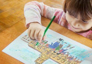 """Dibujando """"La Revolución de Mayo de 1810""""para niños y niñas"""